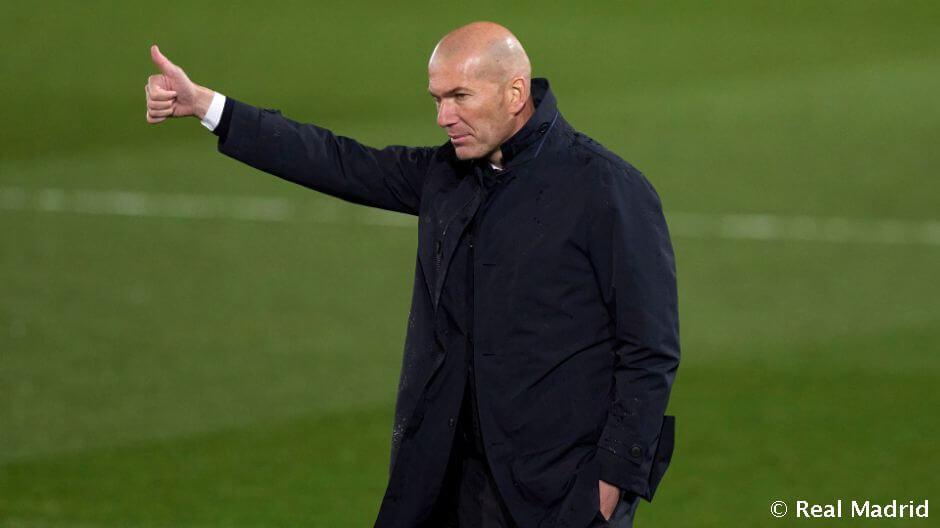 """Zidane: """"A csapat a határait feszegeti"""""""