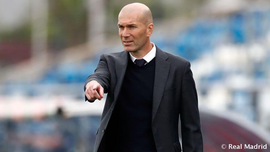 """Zidane: """"Nagyon büszke vagyok a játékosaimra"""""""