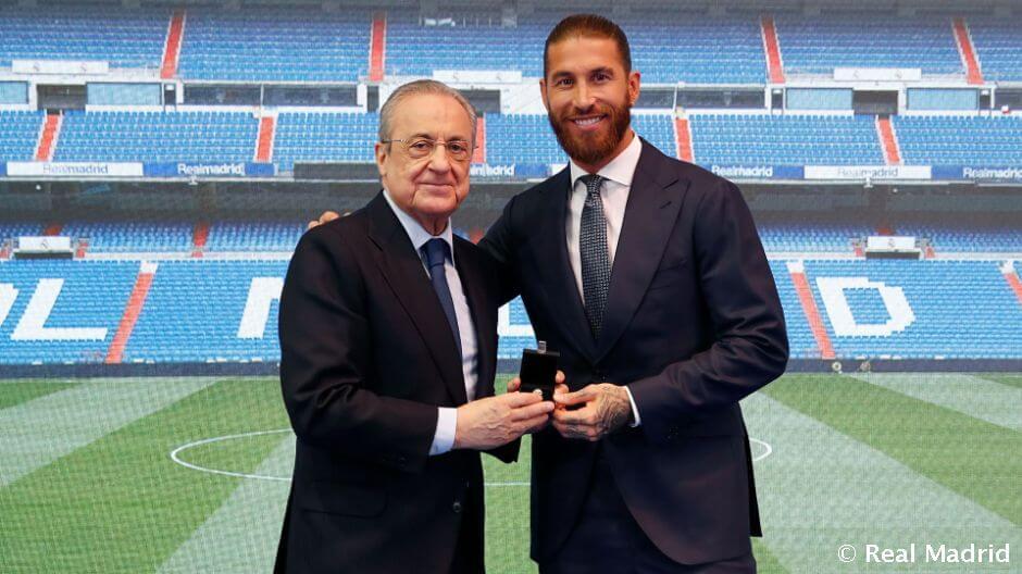 Florentino Pérez: Ramos a Real Madrid legendái közé tartozik