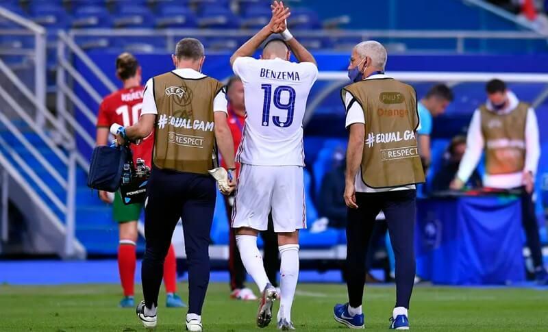 Deschamps: Benzema sérülése nem komoly