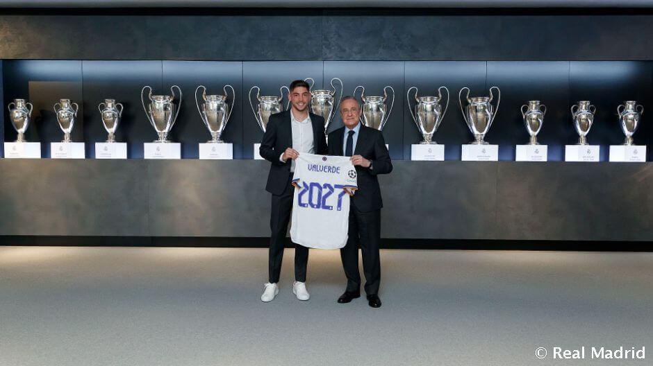 Fede Valverde új szerződést kapott