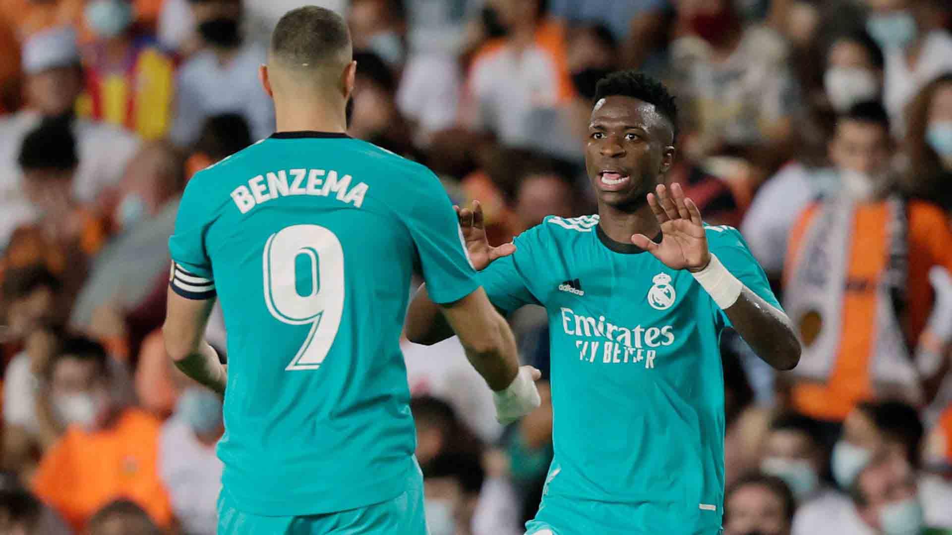 Valencia - Real Madrid (1-2), LaLiga 2021.09.19 teljes mérkőzés