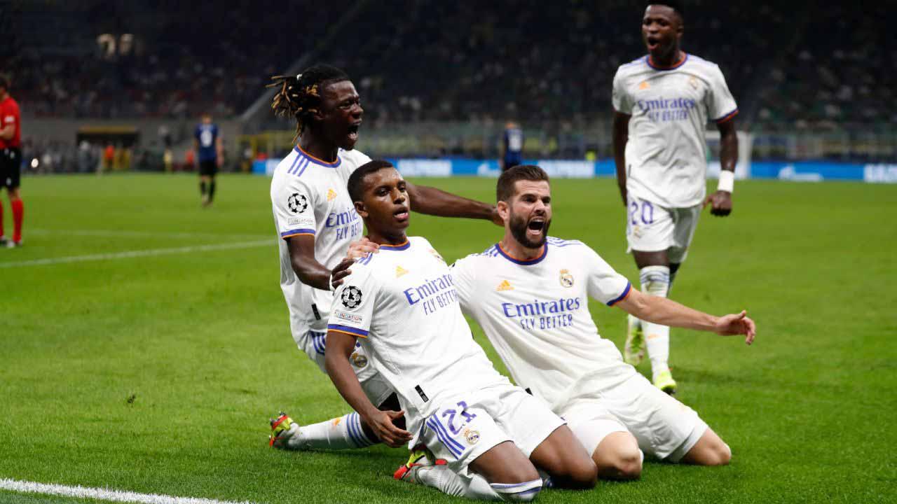 Inter - Real Madrid (0-1), Bajnokok Ligája 2021.09.15