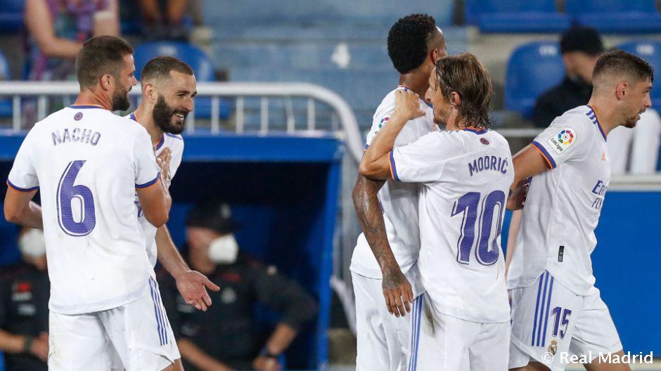 Hivatalos kezdőcsapat: Real Madrid – Celta Vigo