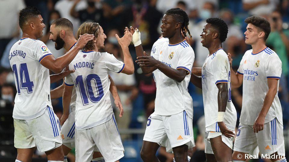 Real Madrid – Celta Vigo (5-2); LaLiga 2021.09.12