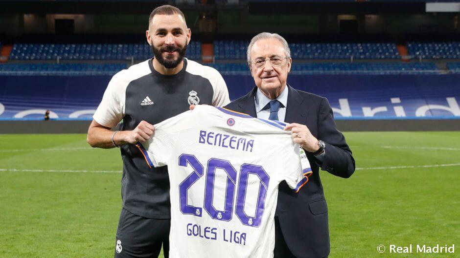 Benzema: 200 gól a bajnokságban