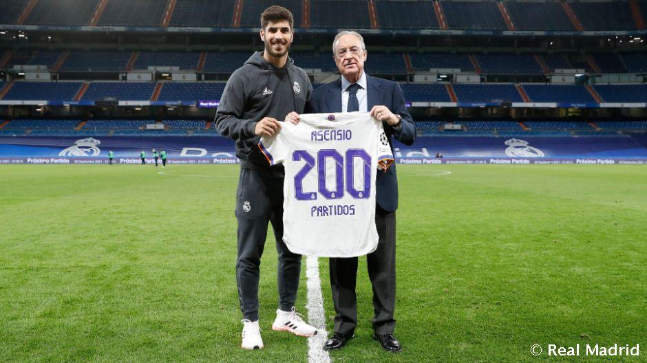 Asensio: 200 mérkőzés a Real Madrid színeiben