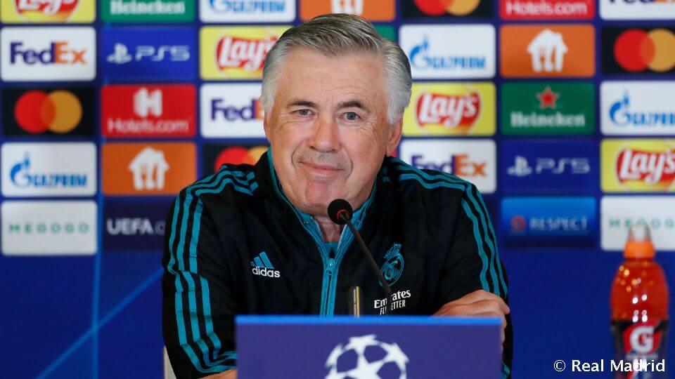 """Ancelotti: """"Dolgoztunk az előző meccsek hibáin"""""""