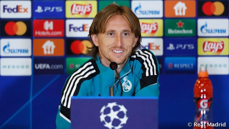 """Modric: """"Kemény mérkőzés vár ránk"""""""