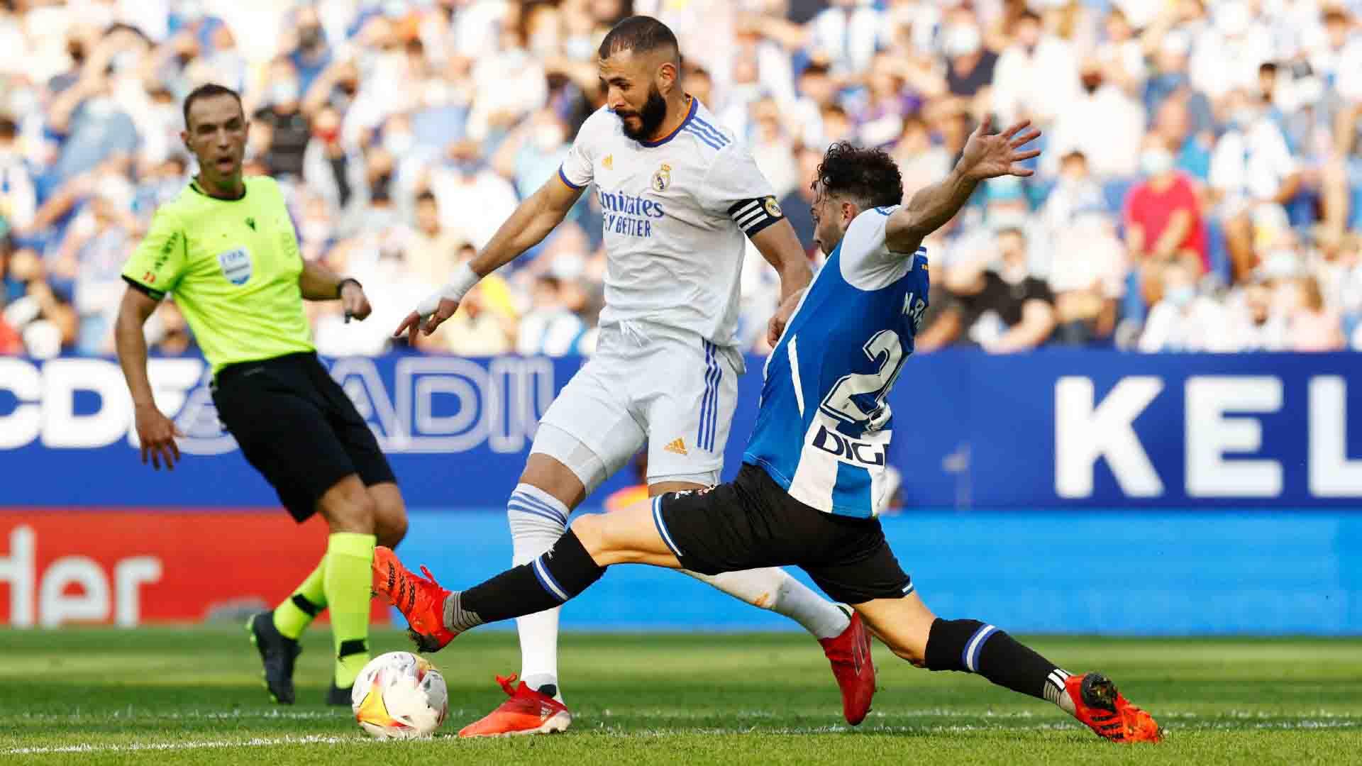 Espanyol – Real Madrid (2-1), LaLiga 2021.10.03 teljes mérkőzés
