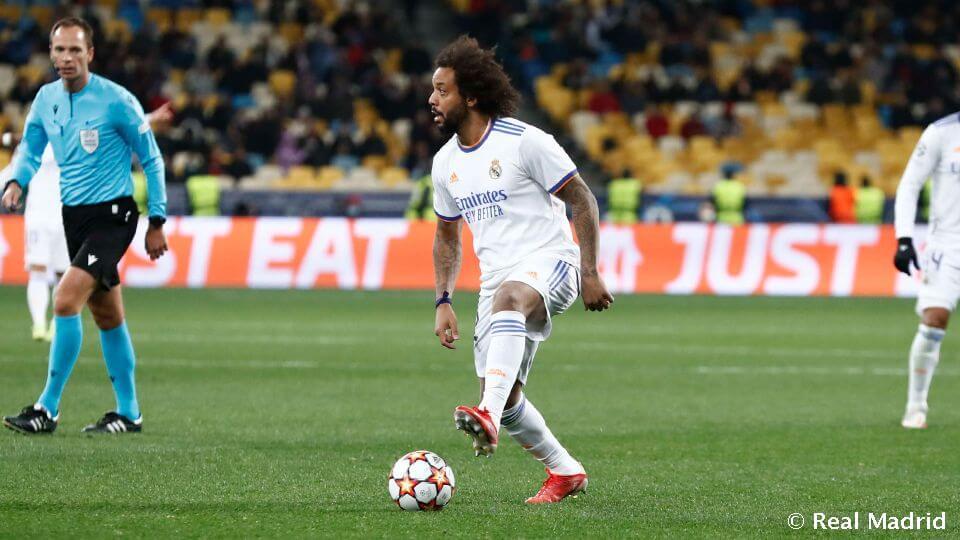 Marcelo: 100 Bajnokok Ligája szereplés a Real Madridban